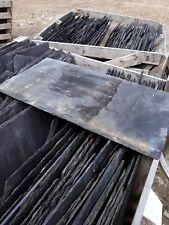 Welsh Blue Tonner, roofing slate, reclaimed, random sizes