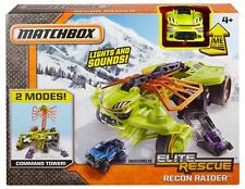 MATCHBOX ELITE RESCUE RECON RAIDER COMMAND SET AGE 4+ YEARS WITH LIGHTS & SOUND