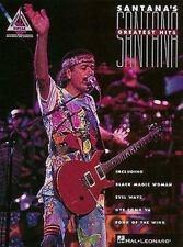 Santana Greatest Hits Guitar Music Song Book