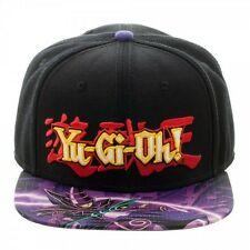 YU-GI-OH DARK MAGICIAN KNIGHT SUBLIMATED BILL SNAPBACK HAT CAP CARTOON LOGO NWT