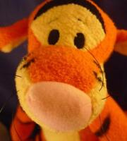 "10 "" DISNEY Winnie Pooh TIGGER Pluffies Plush Stuffed Animal"