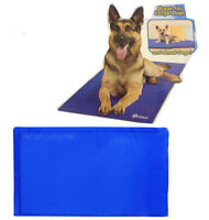 LARGE SELF COOLING COOL GEL MAT PET DOG CAT HEAT RELIEF NON-TOXIC SUMMER 81x51CM