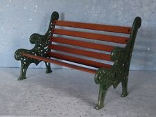 "AllforDoll DIORAMA 1:4 scale Furniture Garden BENCH for 16"" -18"" Tonner BJD Doll"