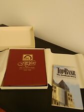 Vintage Sun Bank 1984 50 Year Commemorative History Book Magnet Belt Buckle Rare