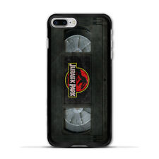 Retro VHS Tape Dinosaur Park Case For iPhone X 8 7 6 Plus 5 Galaxy S8 S7 S6 Edge