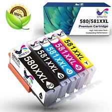 5 XXL DRUCKER PATRONEN PGI580 CLI581 für CANON PIXMA TR7550 TR8550 TS6150 TS6151