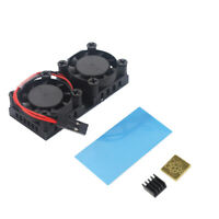 Raspberry Pi Dual Fan With Heat Sink Ultimate Double Cooling Fans Cooler ForQ4I6