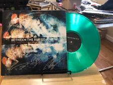 Between The Buried And Me Parallax Hyperspeed Dialogues Green Signed Record Lp