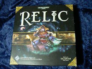 Games Workshop Warhammer 40,000 RELIC Standard Edition Strategy Talisman Game