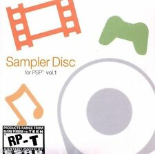 Sampler Disc for PSP Vol. 1 UMD PSP GAME SONY PLAYSTATION PORTABLE VOLUME