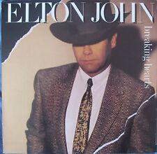 ELTON JOHN Breaking Hearts 10 Track LP A1 B1 Matrix Made In Holland
