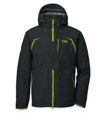 Outdoor Research Men Axcess Waterproof GORETEX Insulated Ski Jacket Black Large