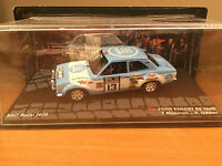 "DIE CAST "" FORD ESCORT RS 1600 RAC RALLY 1973 "" PASSIONE RALLY SCALA 1/43"