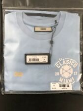 Kith x El Clasico Baby Blue Stripe F.C Barcelona Real Madrid Miami Size Medium