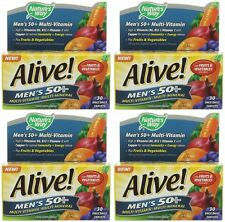 Nature's Way Alive! Mens 50+ OAD - 30 Tablets (Pack of 4)