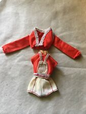 Vintage Skipper Barbie Friends Red White Blue Outfit