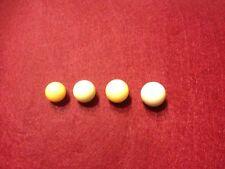 4 Stück verschiedene Roulette Kugeln für Roulette Kessel neu