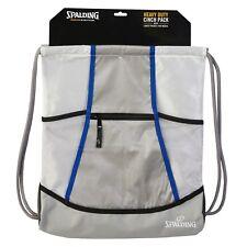 Spalding Nylon Drawstring Bag, Sports Bag, basketball bag