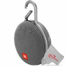 JBL Clip 3 Portable Waterproof Wireless IPX7 Rated Bluetooth Speaker - Gray