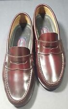 Allen Solly penny loafer Sz 9.5 D leather brown slip on shoes