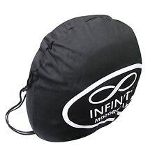 Infinity Motorcycles Motorcycle Motorbike Crash Helmet Helmets Lid Protect Bag
