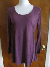 Gap Women's Maternity Burgundy Tunic Top Size Large