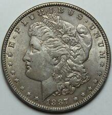 1887 Doller Silver Coin