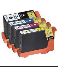 4x Dell Series 31,32,33 & 34 ink cartridges BK+C+M+Y for Dell V525W,V725W