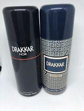 DRAKKAR GUY LAROCHE VINTAGE deodorant + NOIR deo Parfume spray 150ml old edition