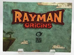 Rayman Origins Art Book Hard Cover First Edition Rare