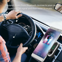 In-Car Kit Bluetooth Hands-free FM Transmitter Radio MP3 Player Phone Holder BT
