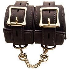 BOUND Nubuck Leather Ankle Cuffs Sensual Desire Premium Erotic Restraints