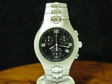 Maurice Lacroix Siras Stainless Steel Chronograph Men's Watch / Ref 04853