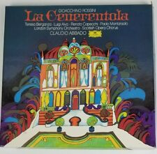 Rossini La Cenerentola Claudio Abbado 3 LP Box Set with Booklet DDG 2709 039