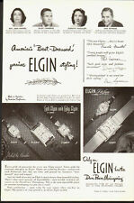 1950 vintage AD,  Lord ELGIN   Watches  Dura Power Mainsprings  (081514)