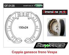 0128 - CP Ganasce Freno Posteriori NEWFREN per PIAGGIO Vespa PK 50 XL dal 1985