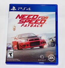 Replacement Case (NO GAME) Need For Speed Payback PlayStation 4 PS4 Box