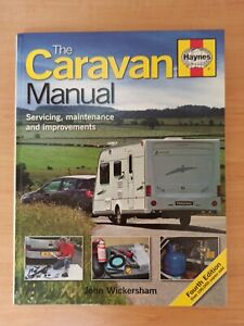 The Caravan Manual 4th Edition H4678 Haynes Genuine Top Quality Product used