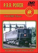 Pennsylvania Railroad Power Volume 3 DVD NEW PRR 1930-68 Steam diesel electric