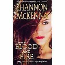 Blood and Fire (The Mccloud Brothers Series), McKenna, Shannon, Acceptable Book