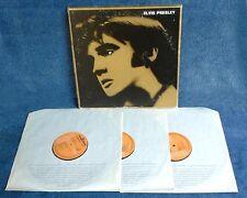 ELVIS PRESLEY - SELF TITLED - RCA # PL 42298 - 3 LP BOX SET - FRENCH PRESS - '77