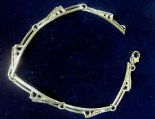 Scottish Silver Mackintosh Art Nouveau Bracelet Edinburgh 1990 Carrick Jewellery