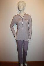 "Triumph Pyjama Schlafanzug ""Winter Beauty PK 11"" Gr.38 lilac gestreift"