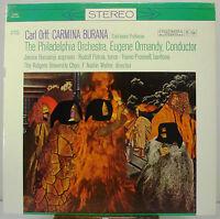 "12"" 33 RPM STEREO LP - COLUMBIA MS-6163 - CARMINA BURANA / PHILA ORCH / ORMANDY"