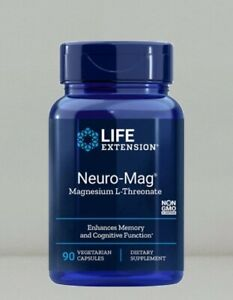 Neuro-Mag Magnesium Threonate by Life Extension, 90 capsule