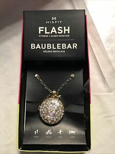 Baublebar necklace misfit flash fitness and sleep monitor Clip And Pink Watch