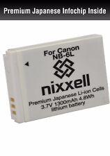 NX-NB6L WT Battery for Canon SX280 HS, SX500 IS, SX510 HS, ELPH 500 HS