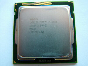 Intel Quad Core i5-2500 / 4 x 3.30GHz / Sockel 1155 Prozessor