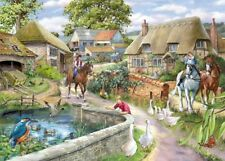House of Puzzles 1000 piece jigsaw puzzle Bridle Path New & Sealed Country Scene