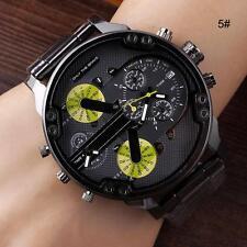 Men's Fashion Luxury Watch Stainless Steel Sport Analog Quartz Wristwatches mzus